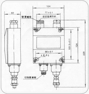 YWK-50-C压力控制器